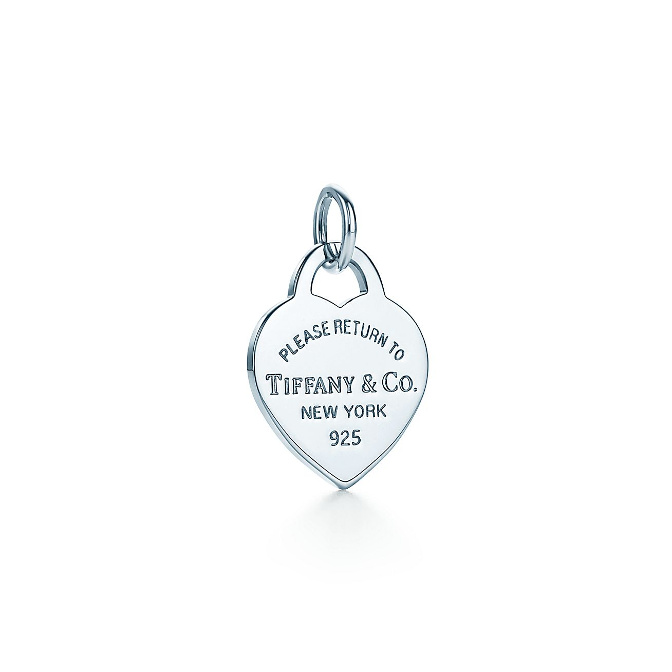 Return To Tiffany 174 Heart Tag Charm In Sterling Silver
