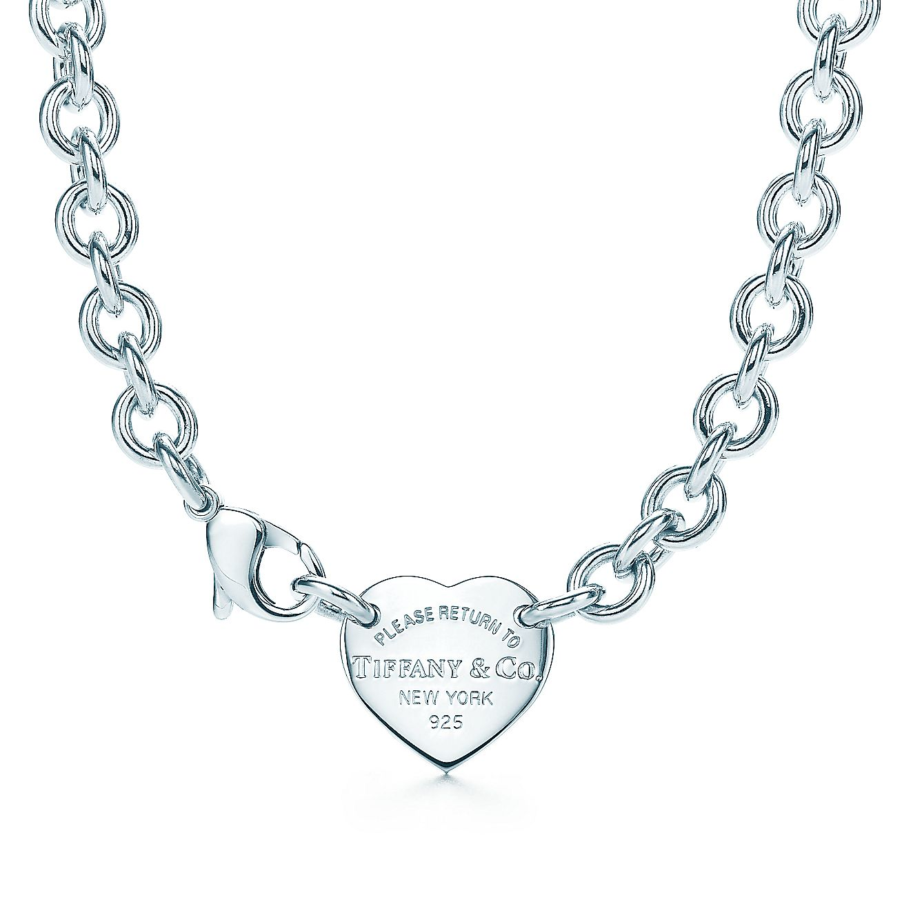 Return to Tiffany®:Heart Tag Choker