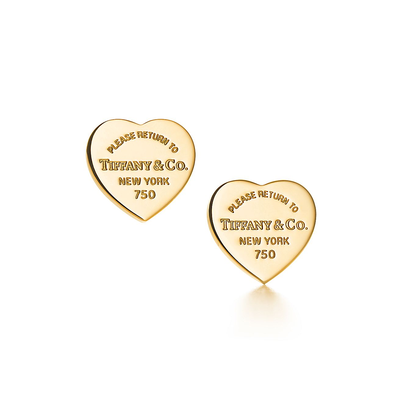 Return to Tiffany®:Heart Tag Earrings