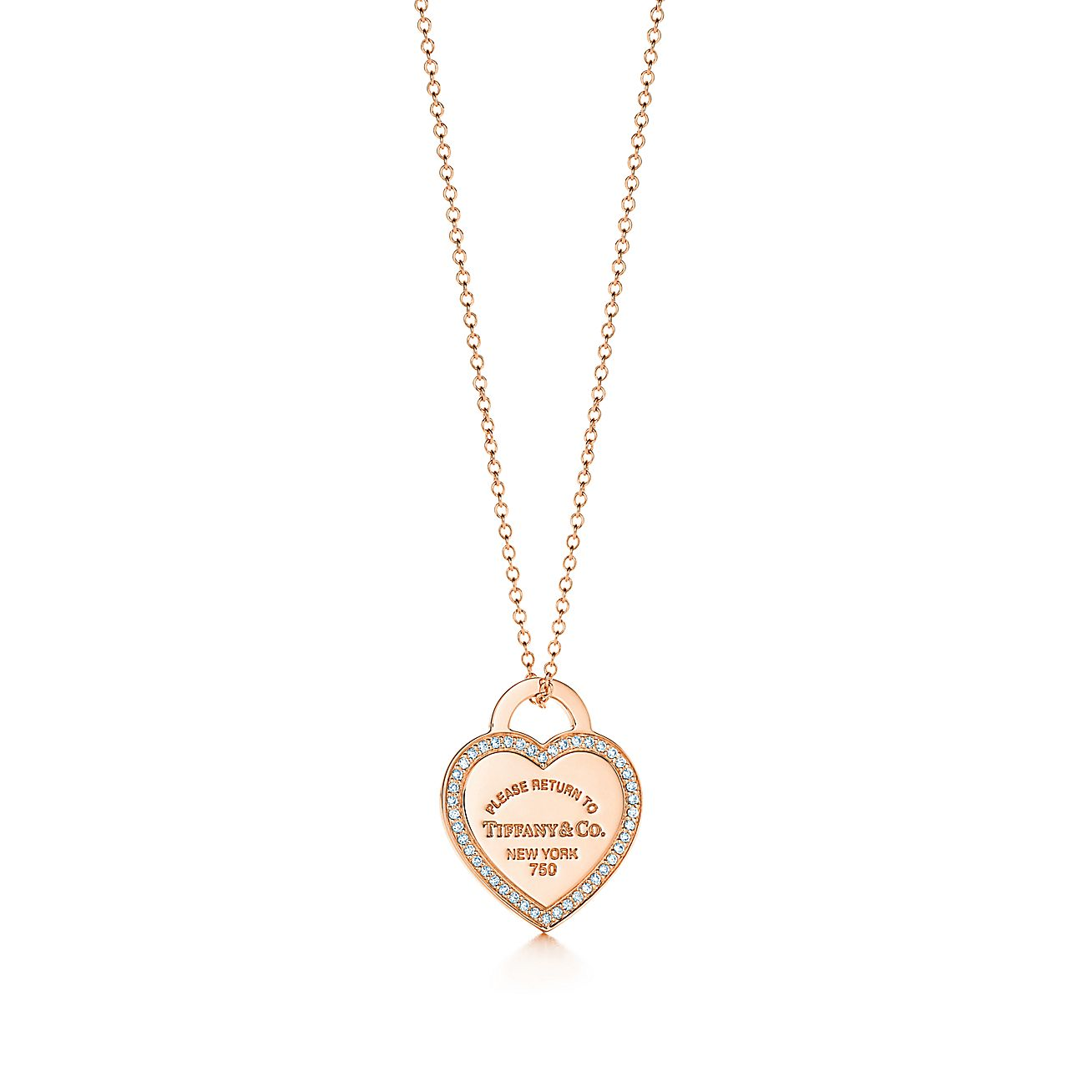 Return to Tiffany®:Heart Tag Pendant