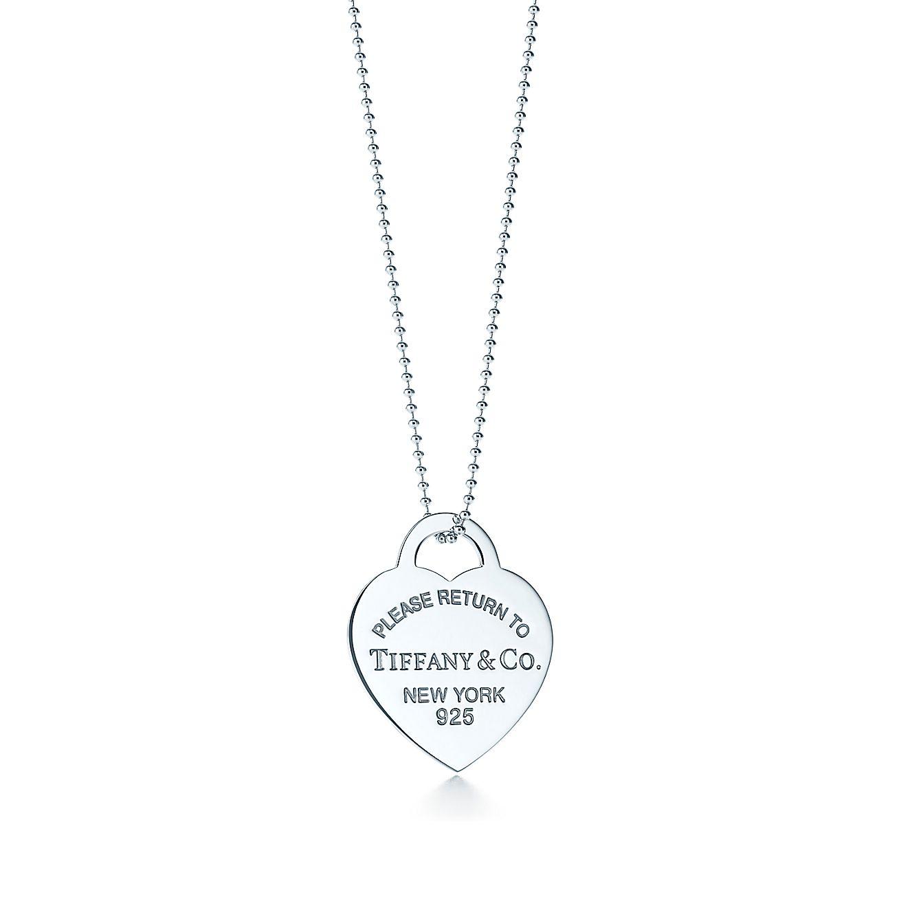 Return to Tiffany®:Heart Tag Pendant