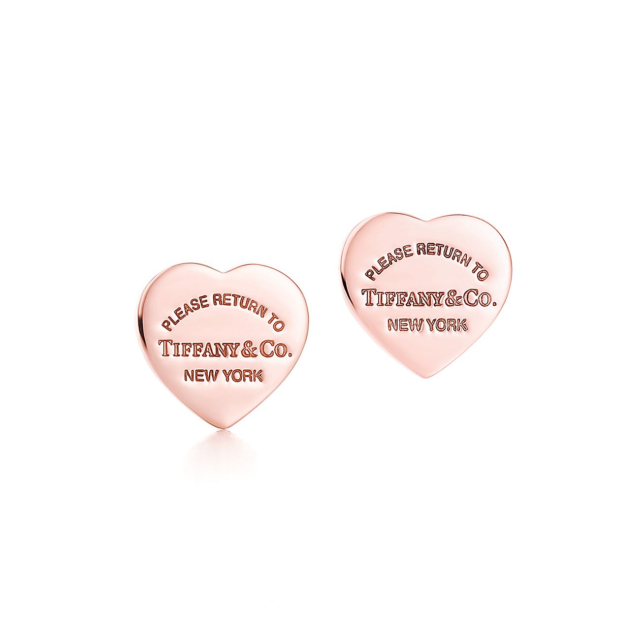 Return to Tiffany®:Mini Heart Earrings