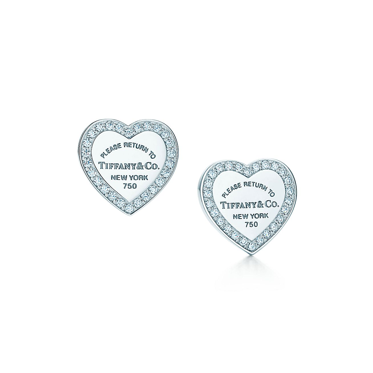 Return to Tiffany®:Mini Heart Tag Earrings