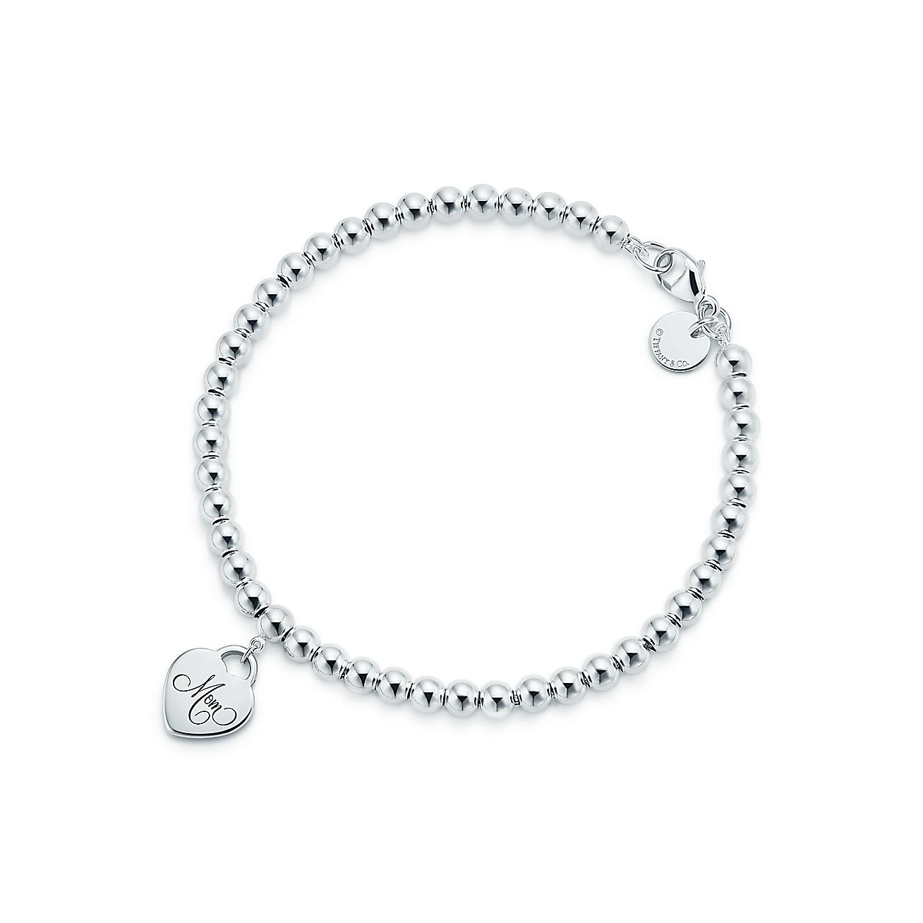 Sterling Silver Key Ring Bracelet