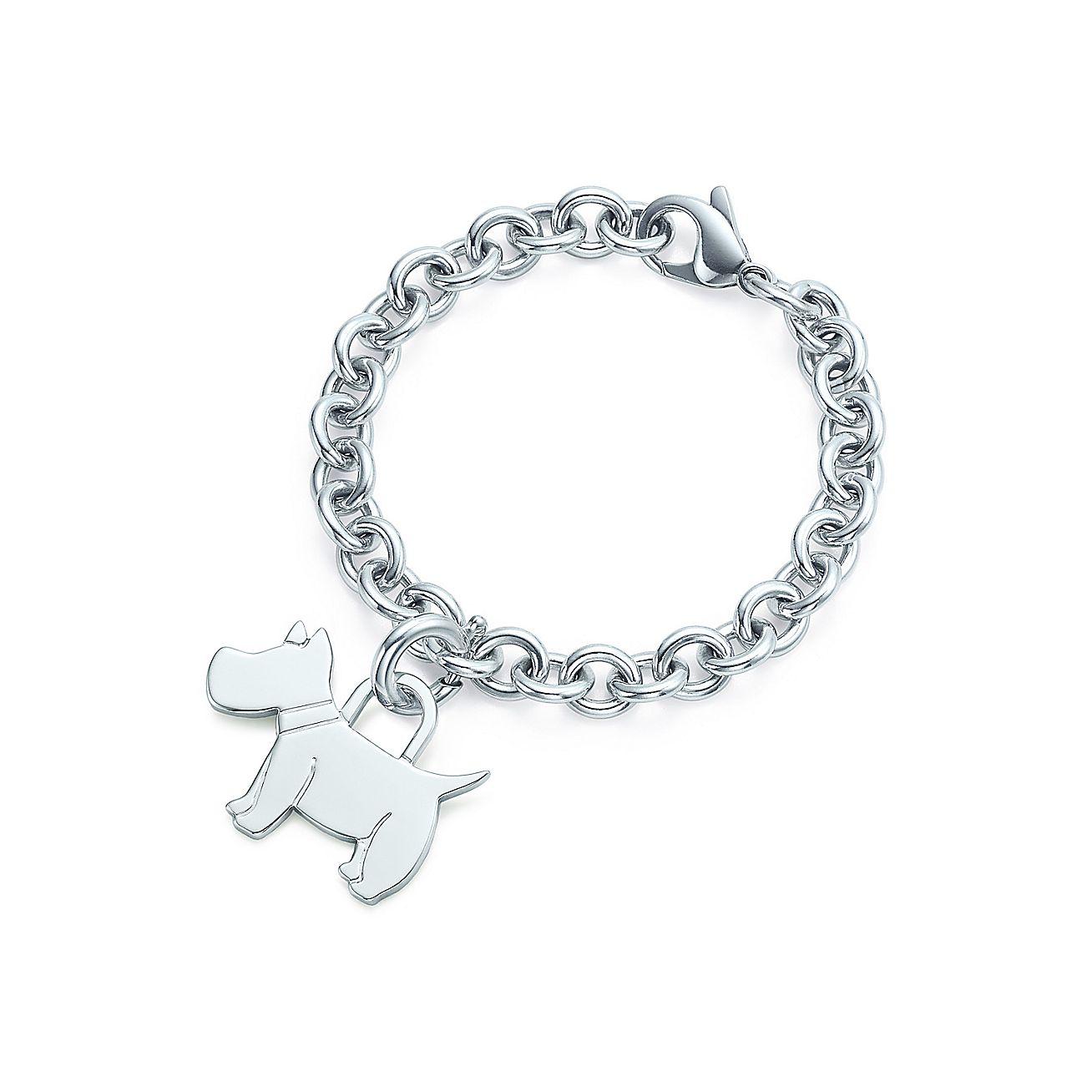 Scottie tag<br>Charm and bracelet