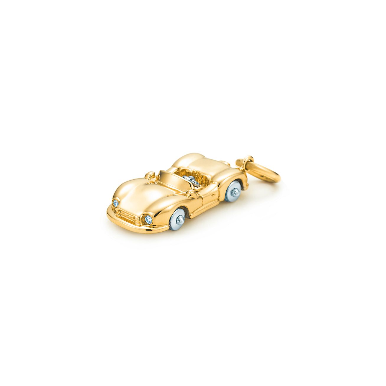 Sports Car Charm With Diamonds In 18k Gold Tiffany Amp Co