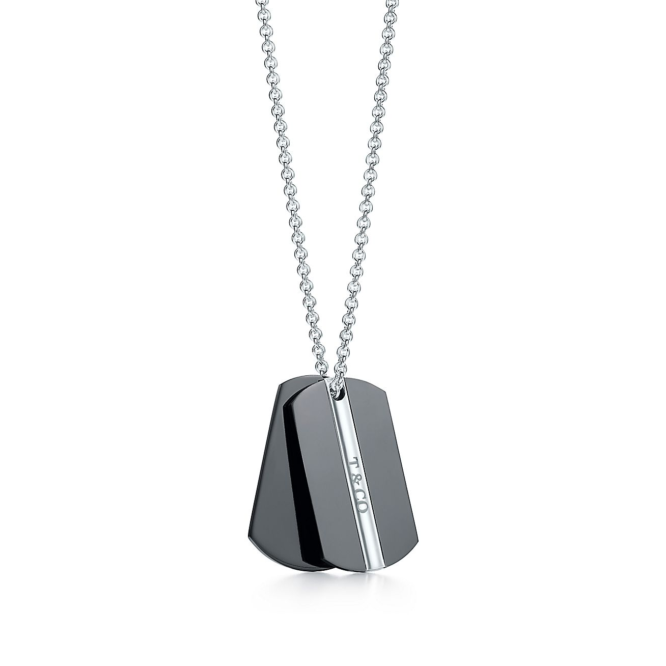 T&CO.® double tag pendant