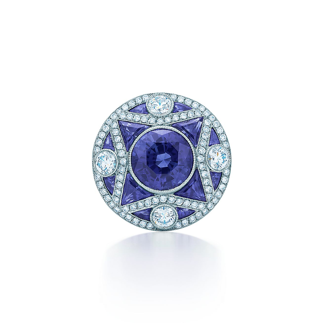 The Gatsby Collection:Sapphire Ring