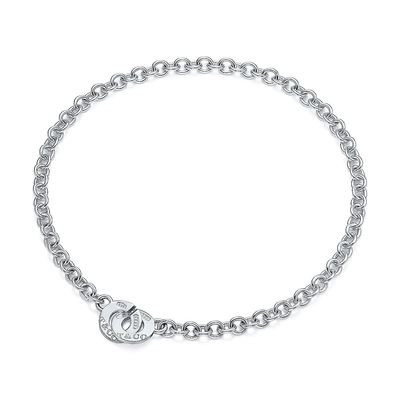 Tiffany 1837™<br>Circle clasp necklace
