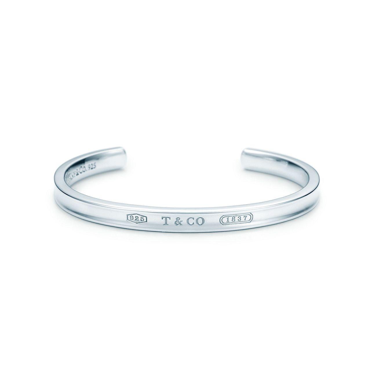 Bracelet jonc or tiffany