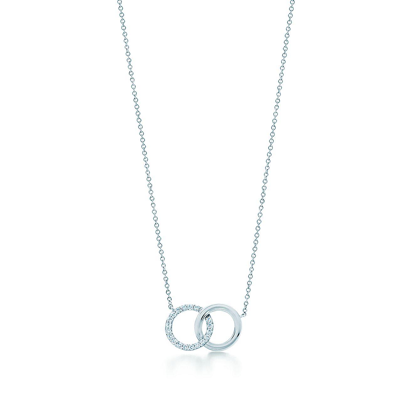 Tiffany 1837®:Double Interlocking<br>Circles Pendant