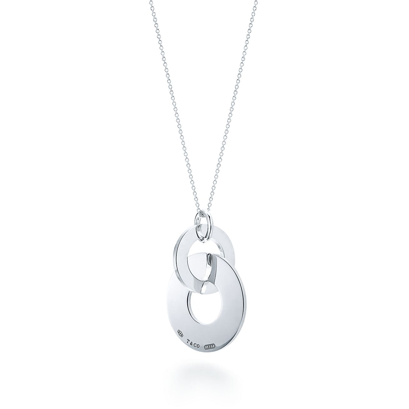 Tiffany 1837 double interlocking drop pendant in sterling silver tiffany 1837double interlocking drop pendant mozeypictures Gallery