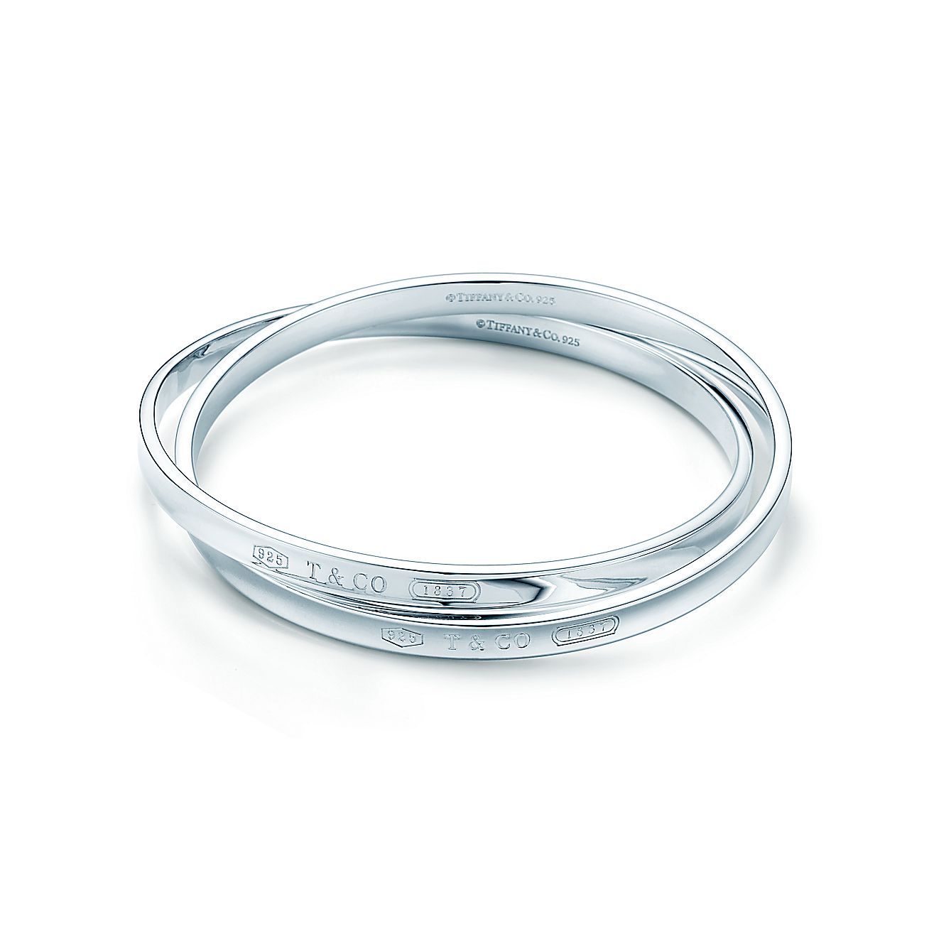 Tiffany 1837®:Interlocking Circles<br>Bangle