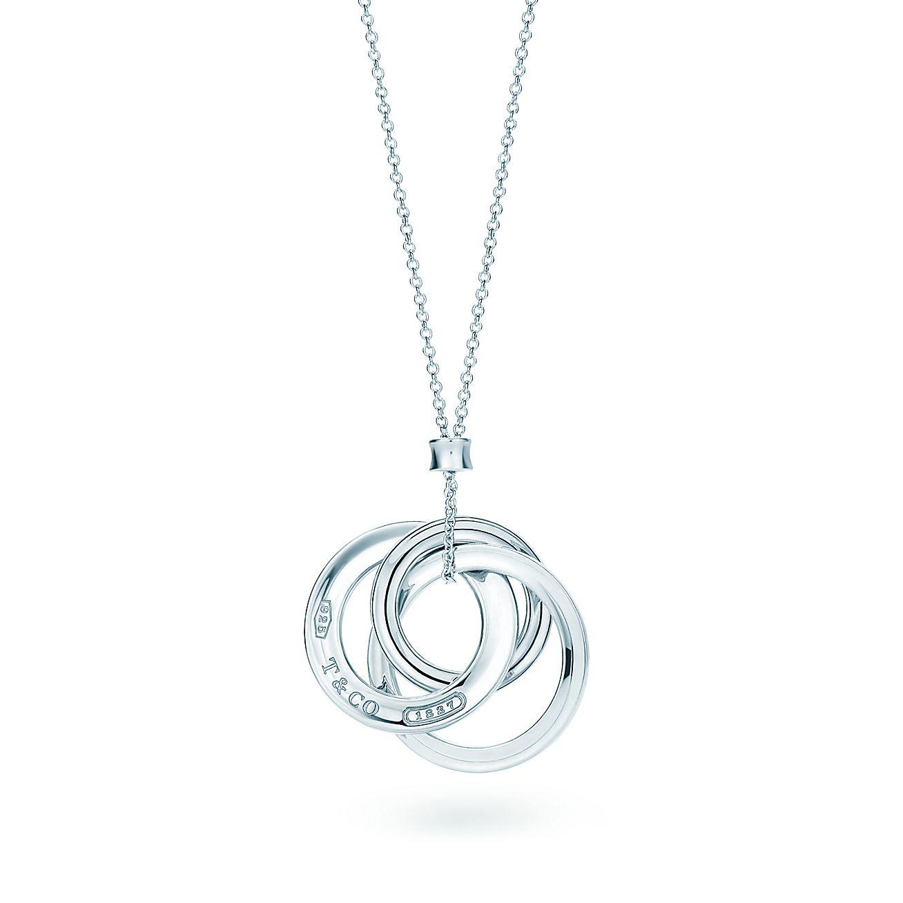 Tiffany 1837®:Interlocking Circles<br>Pendant