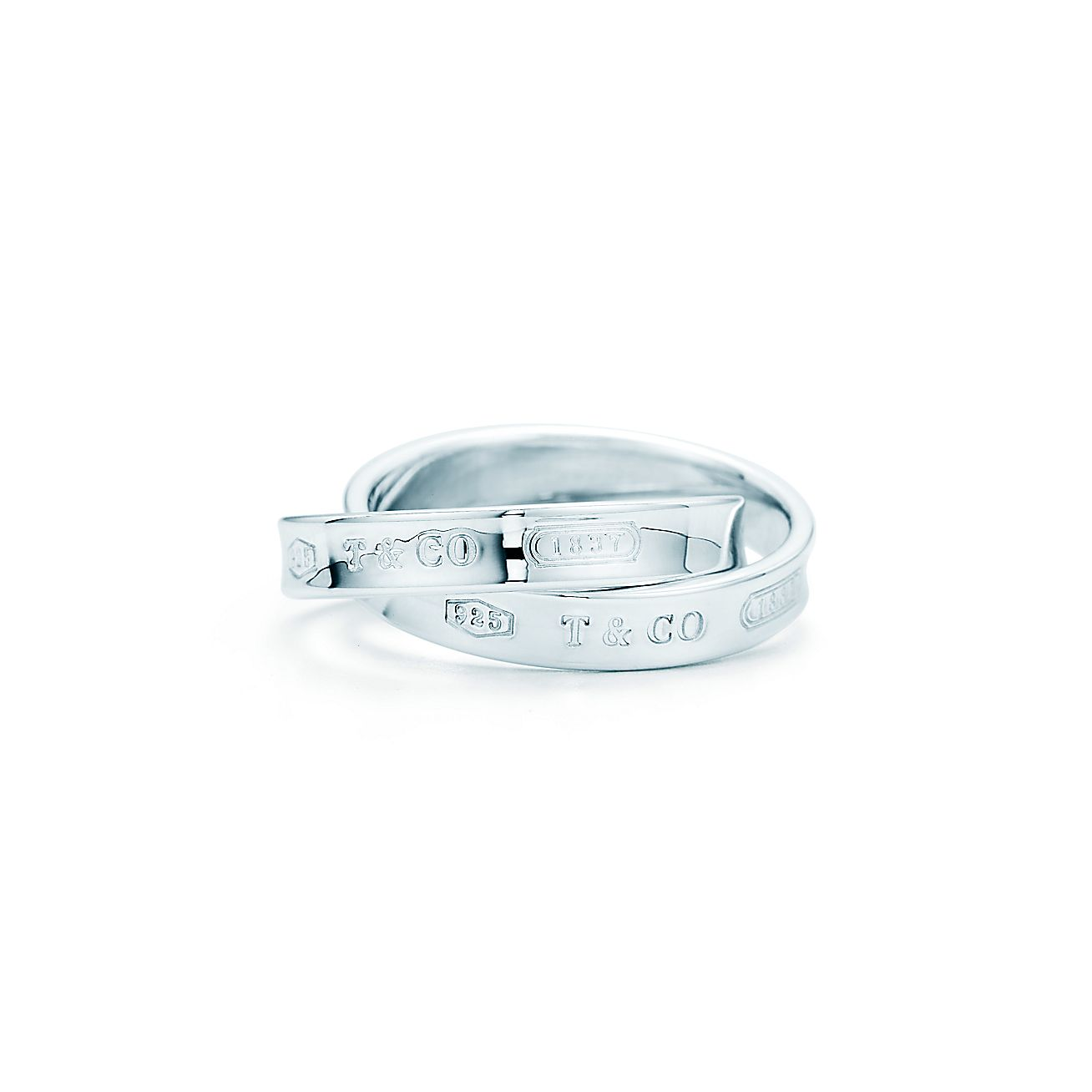 Tiffany 1837®:Interlocking Circles<br>Ring