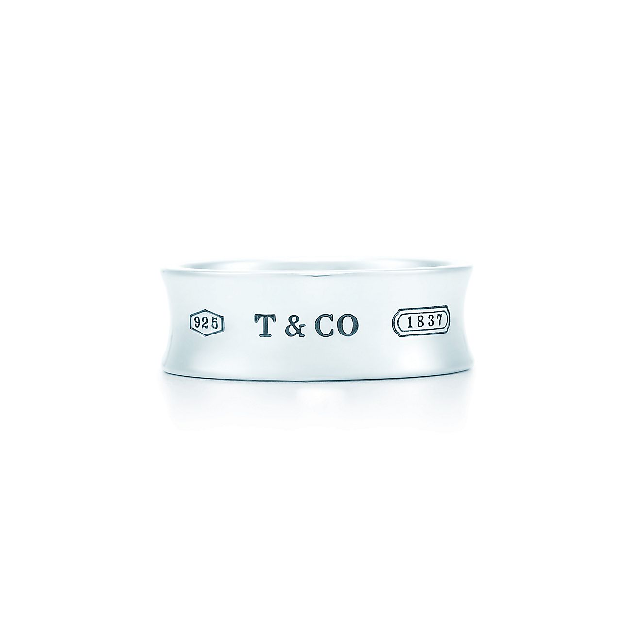 Tiffany 1837 174 Ring In Sterling Silver Tiffany Amp Co