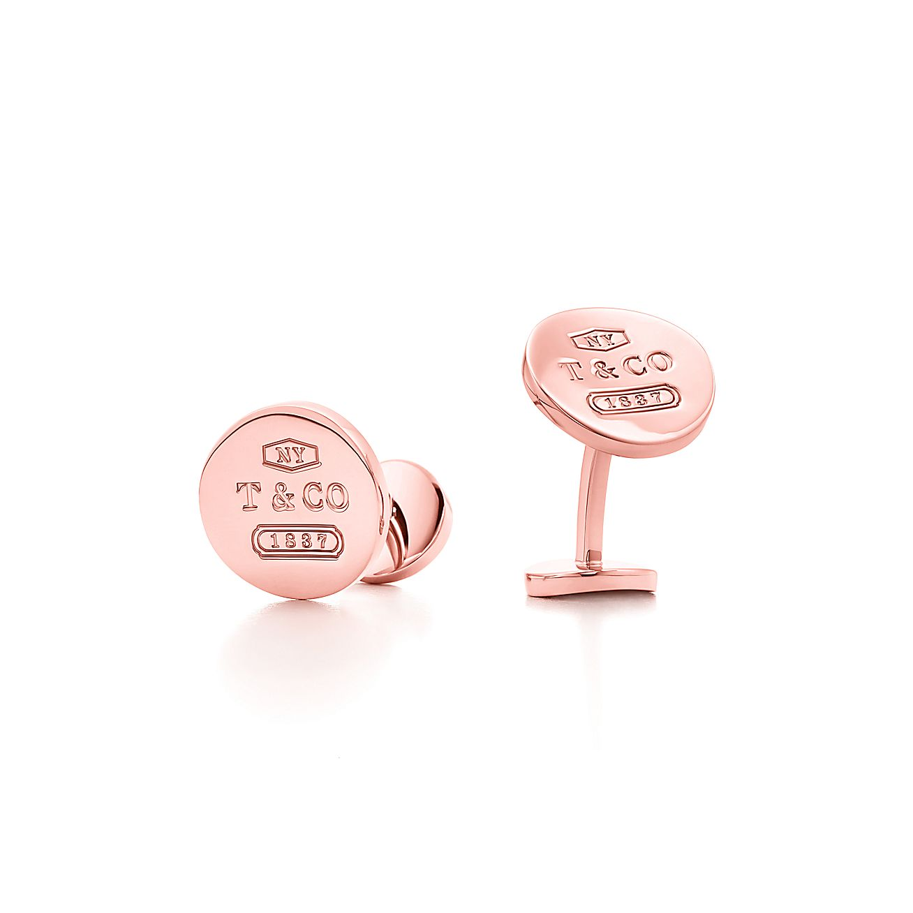 Tiffany 1837™:Round Cuff Links