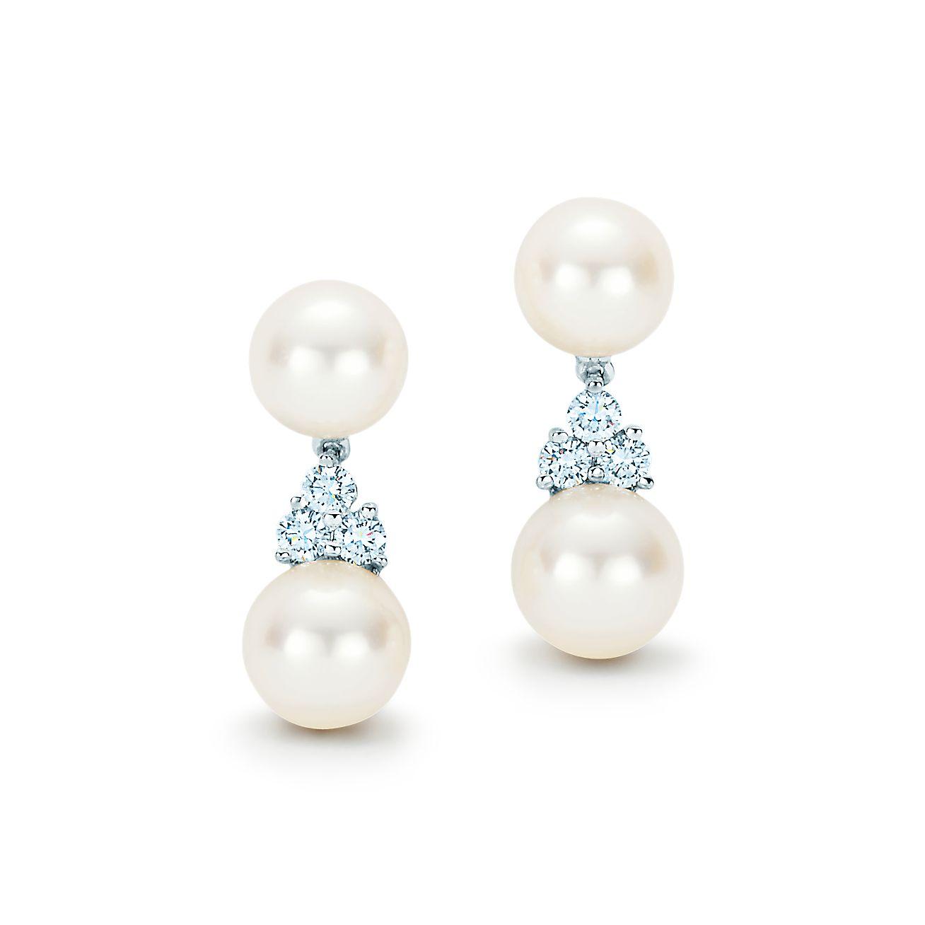 Tiffany Aria:Drop Earrings
