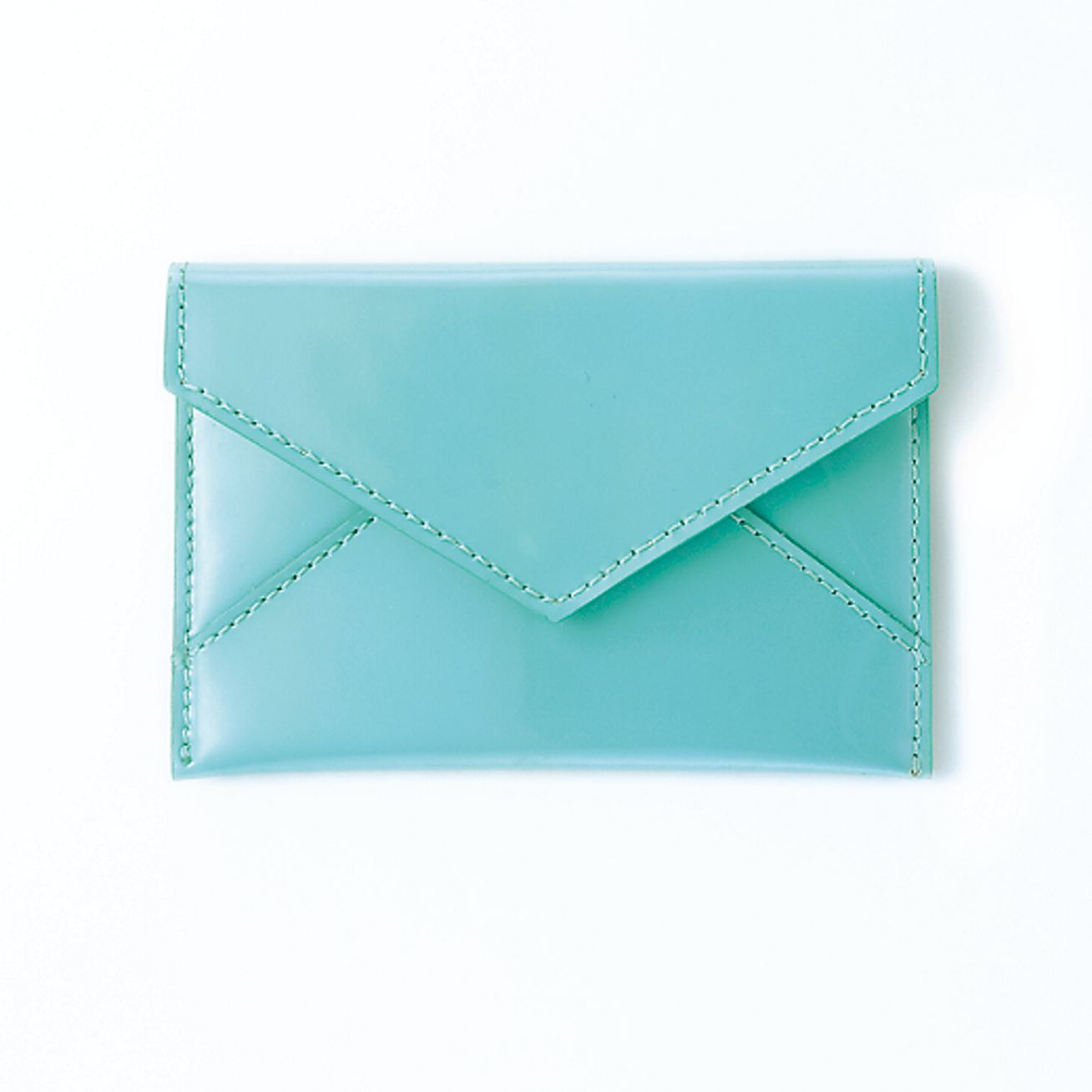 Tiffany bluer patent leather business card case tiffany for Tiffany business card case