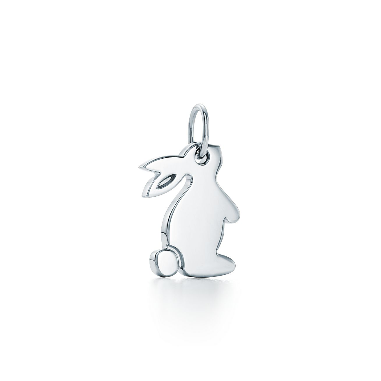 charms snuggle bunny charm in sterling silver
