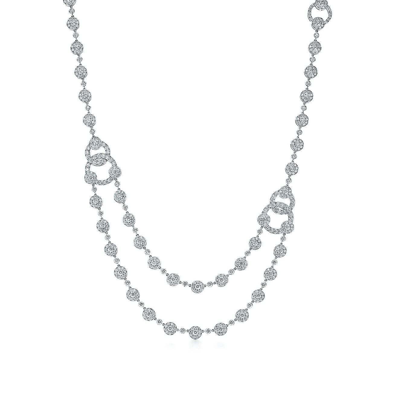 Tiffany Circlet:Diamond Necklace