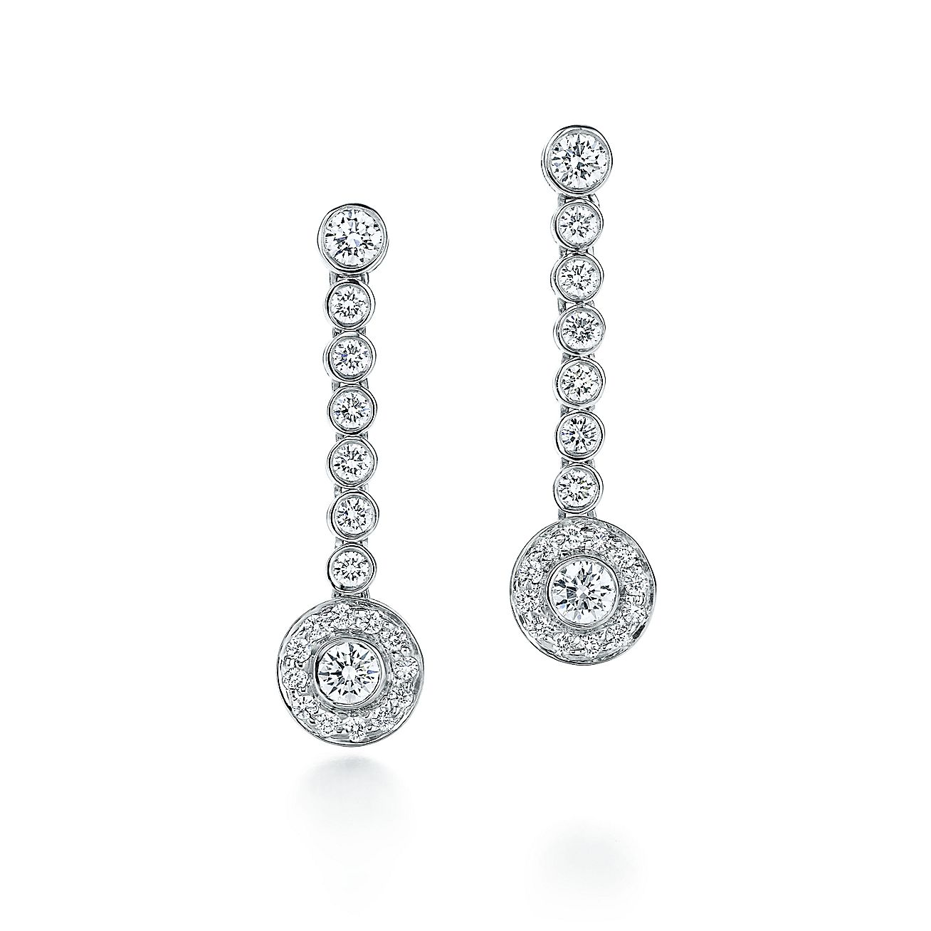 Tiffany Circlet:Drop Earrings