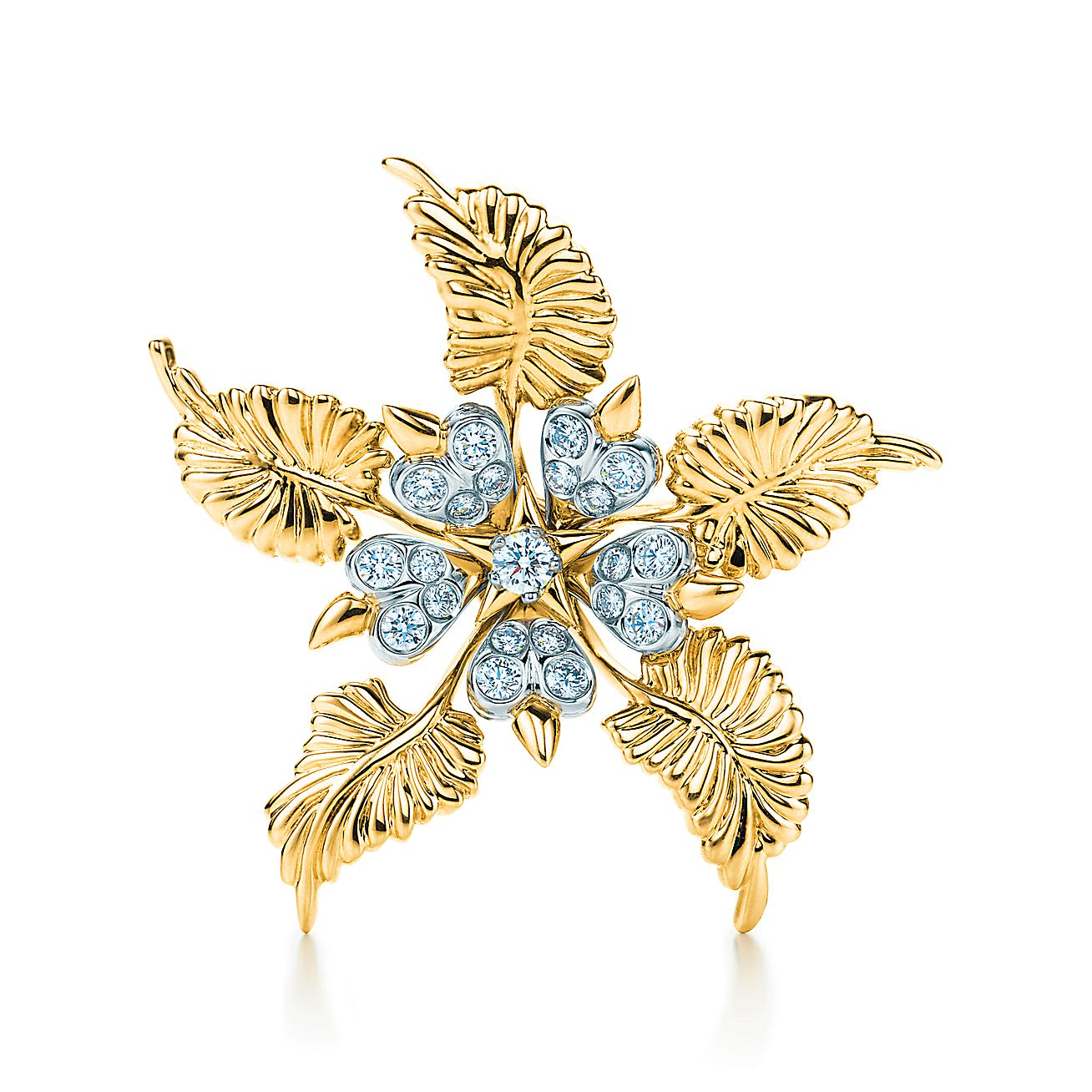 Tiffany & Co. Schlumberger®:Floral Leaves Clip