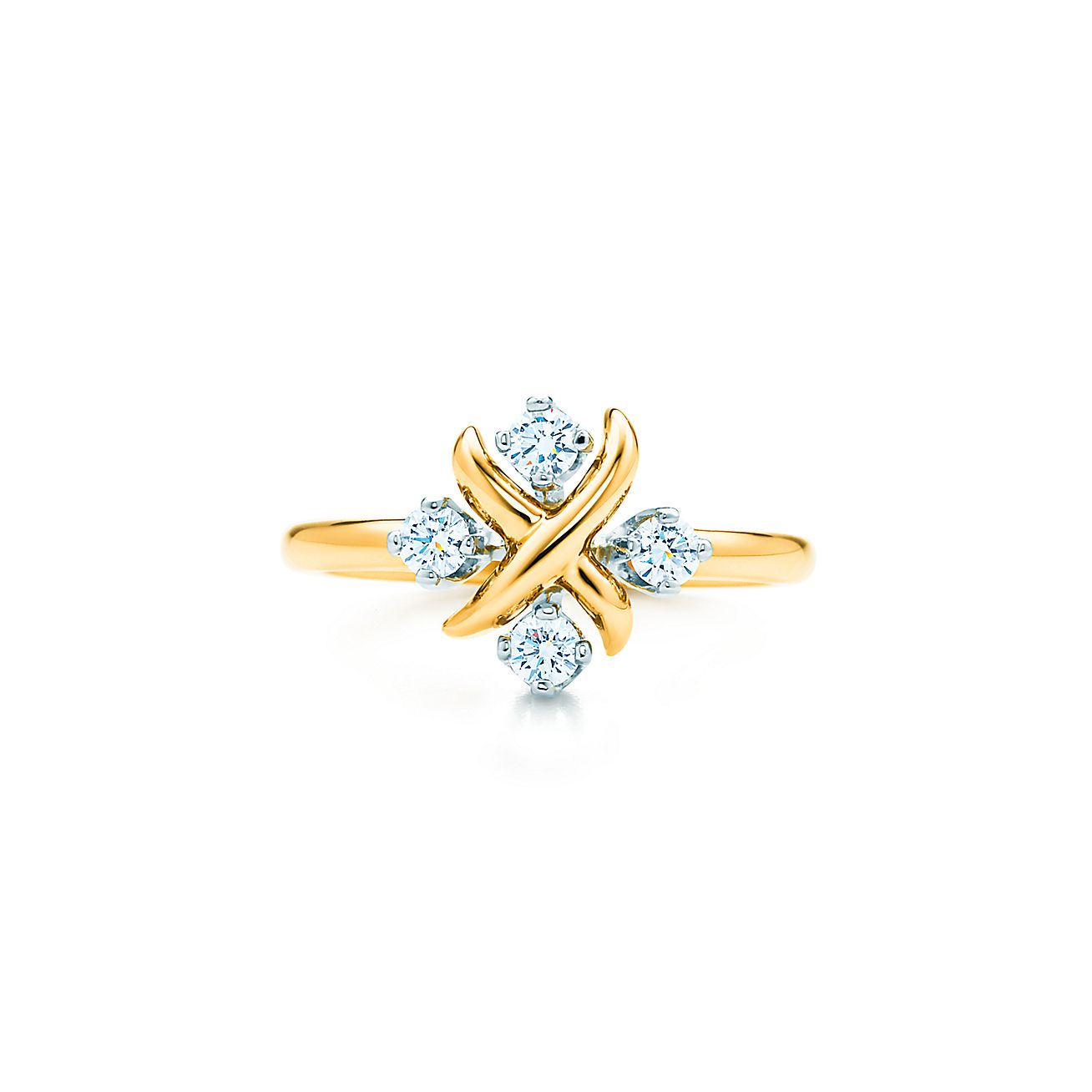 Tiffany Amp Co Schlumberger Lynn Ring In 18k Gold With