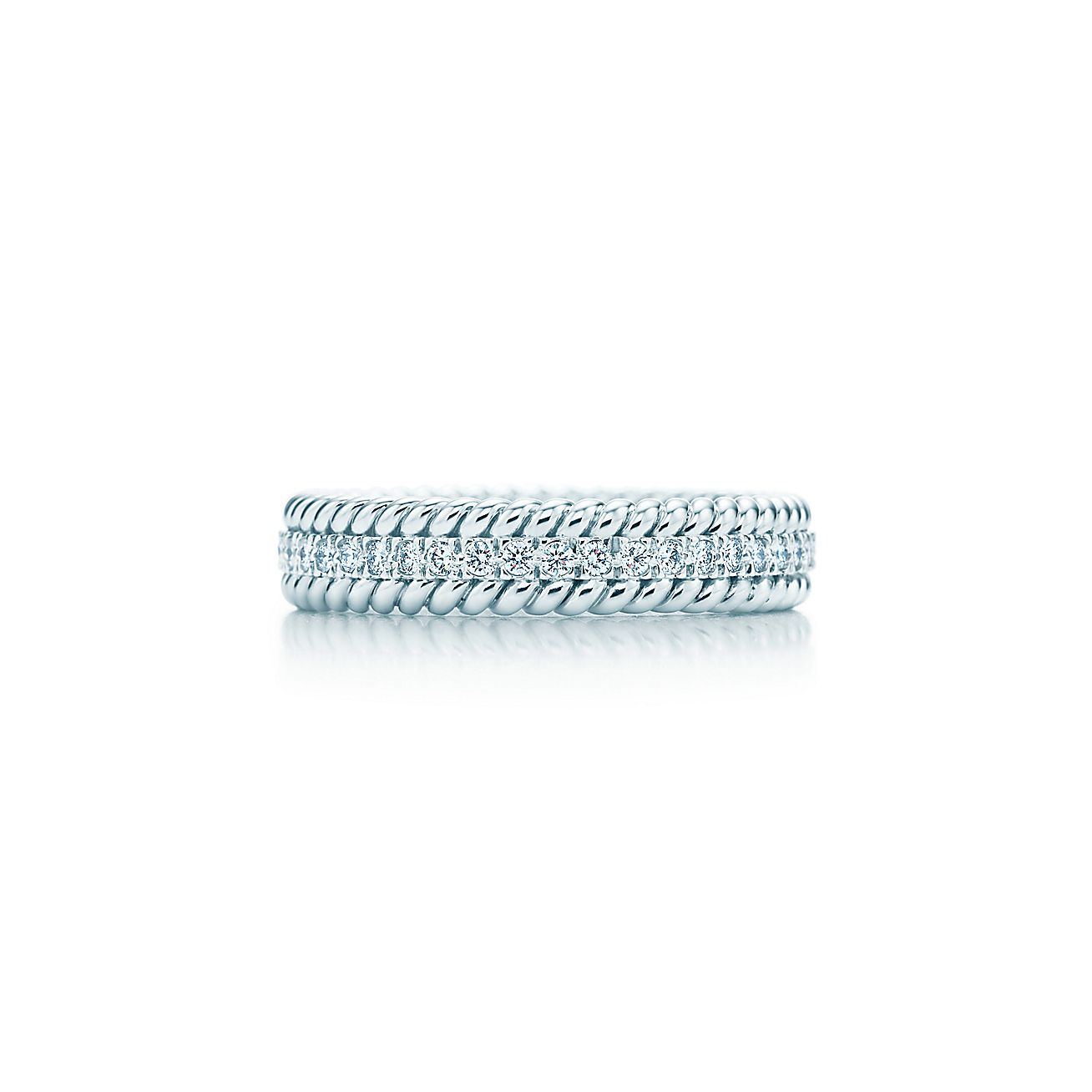 Tiffany & Co. Schlumberger®:Rope Two-row Ring