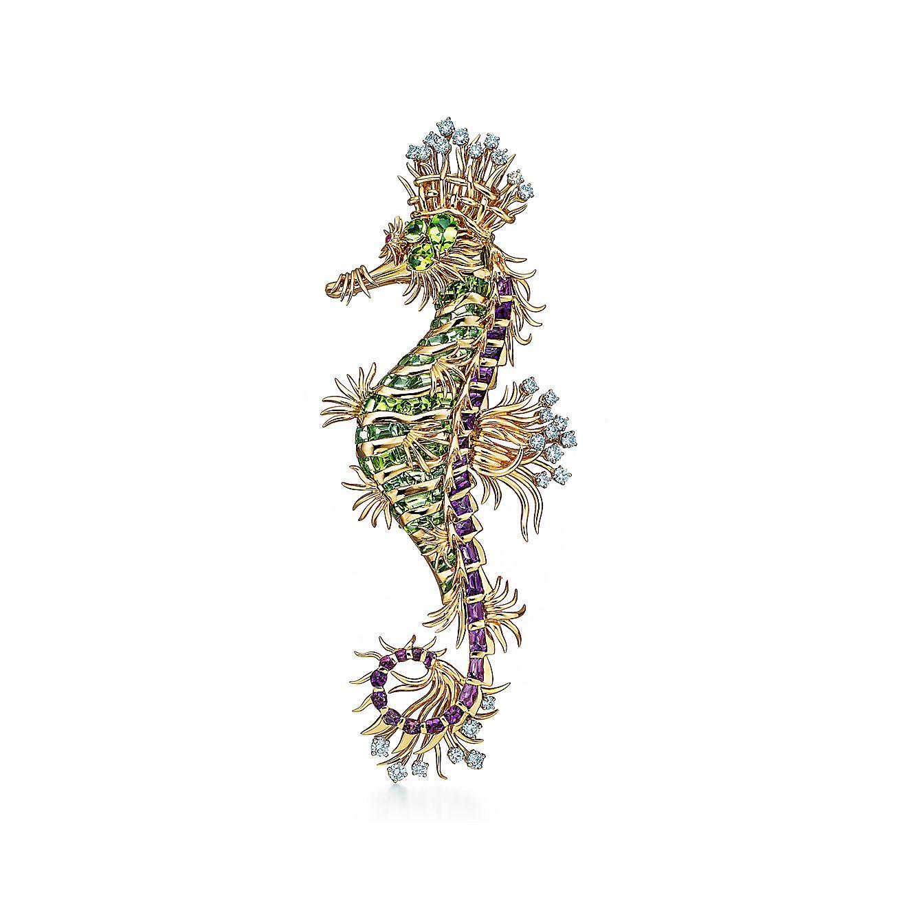 Tiffany & Co. Schlumberger®:Seahorse Clip