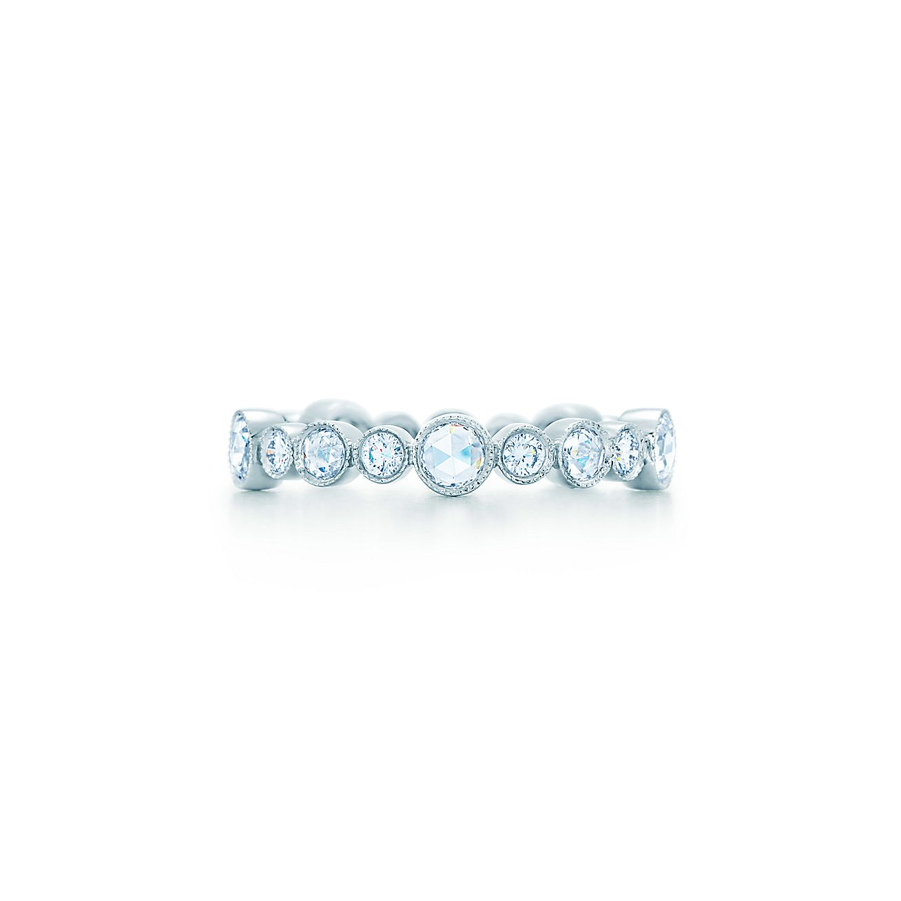 Tiffany Cobblestone:Diamond Band Ring