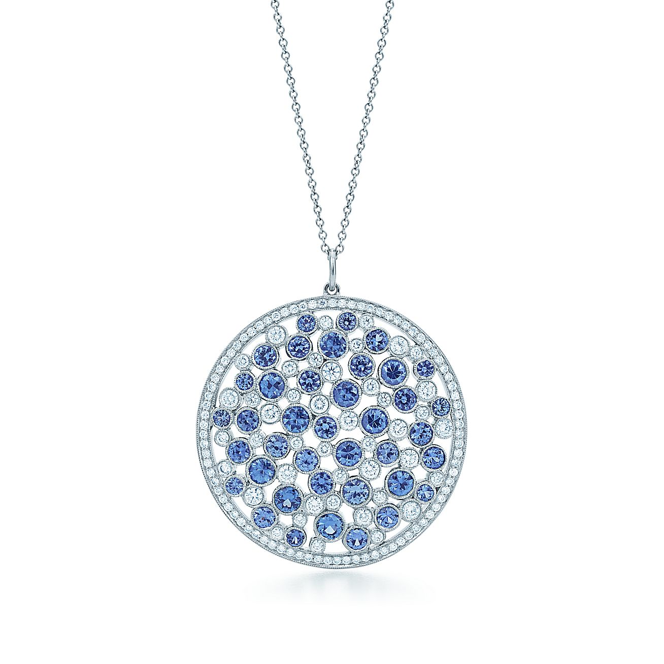 Tiffany Cobblestone:Medallion Pendant