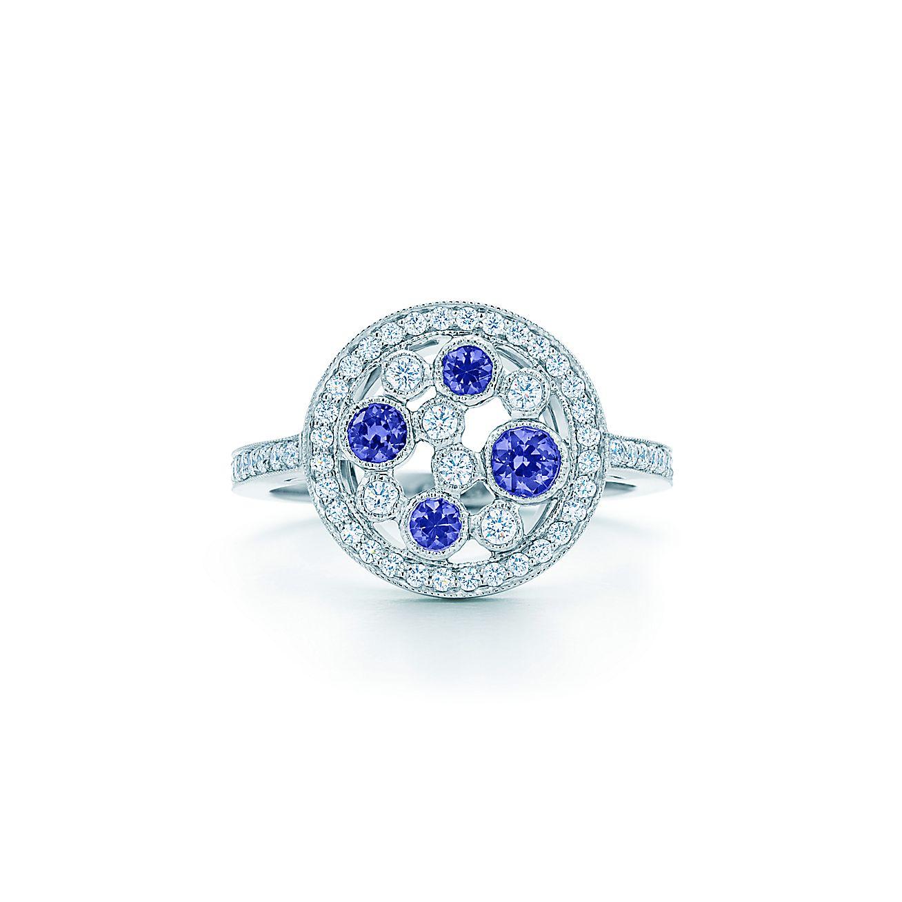 Tiffany Cobblestone:Montana Sapphire Ring