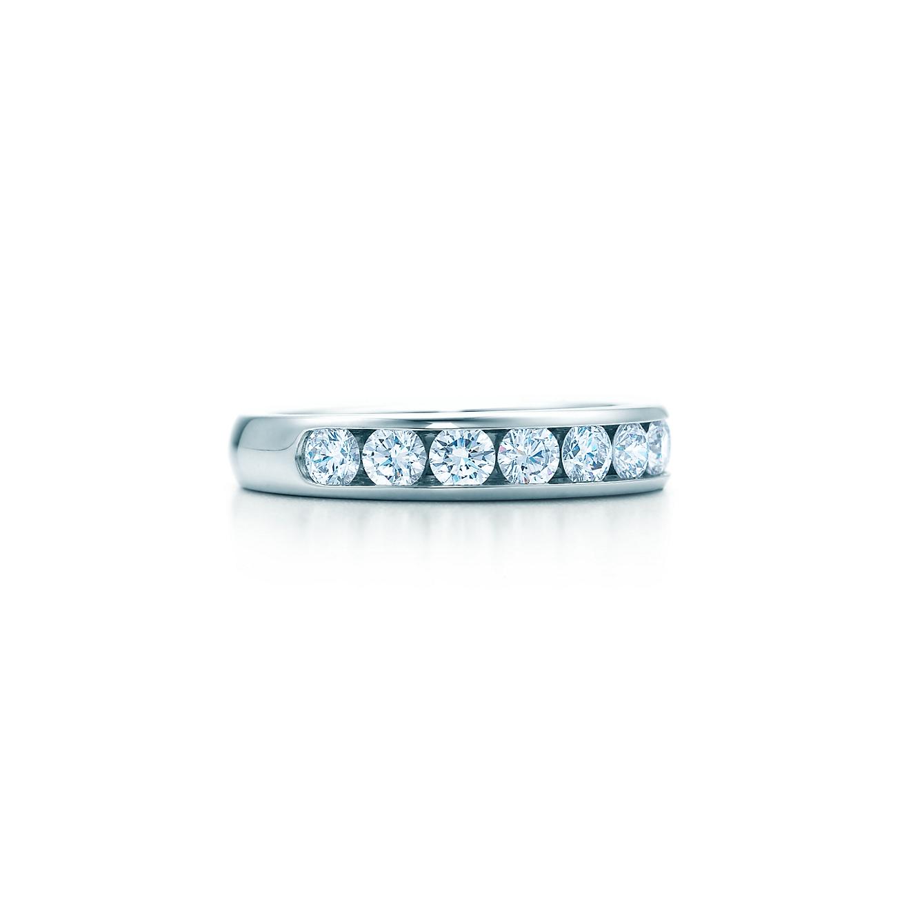Tiffany diamond wedding band in platinum 39 mm wide tiffany deletelarge tiffany diamond wedding band junglespirit Images