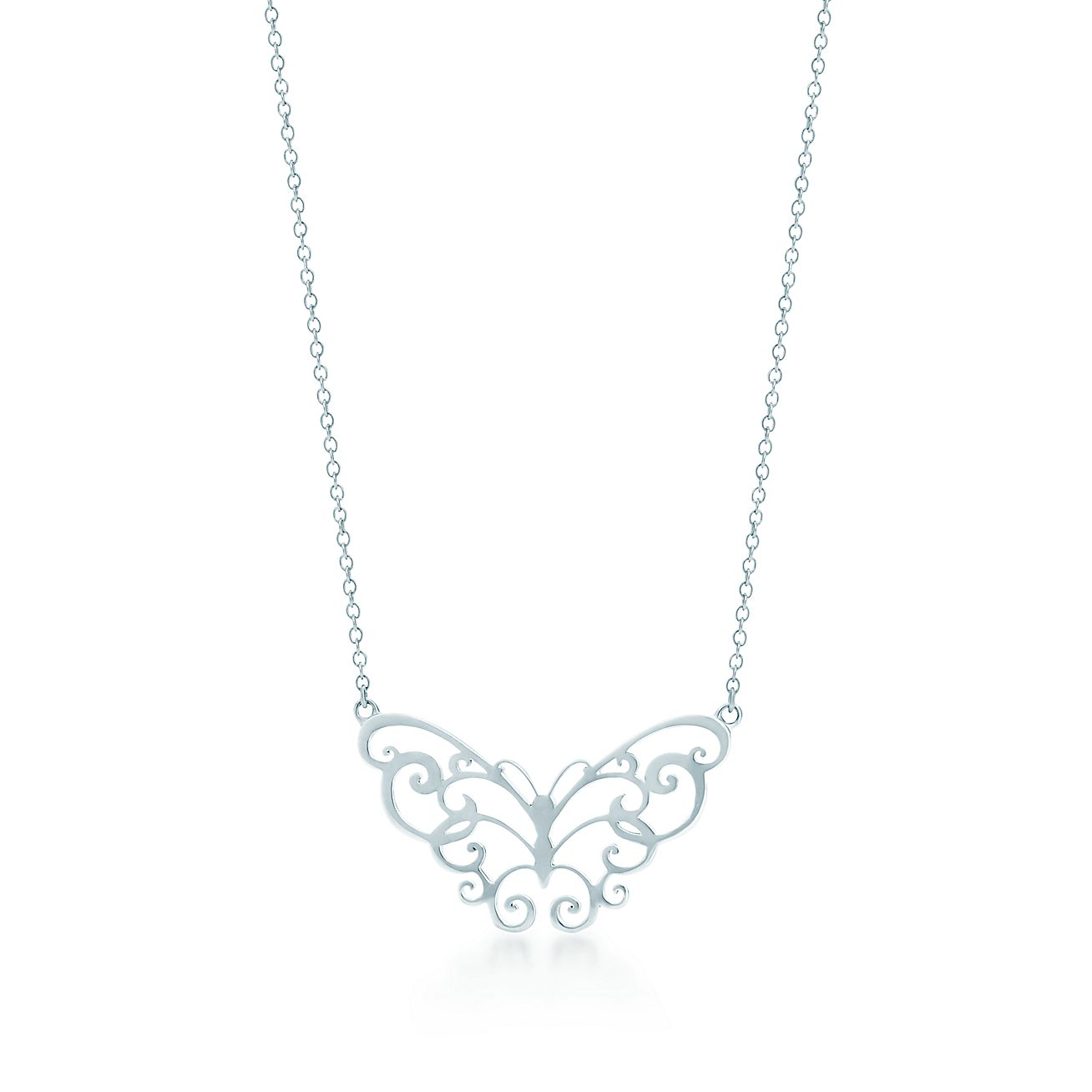 Tiffany enchant butterfly pendant in sterling silver tiffany co audiocablefo light Images