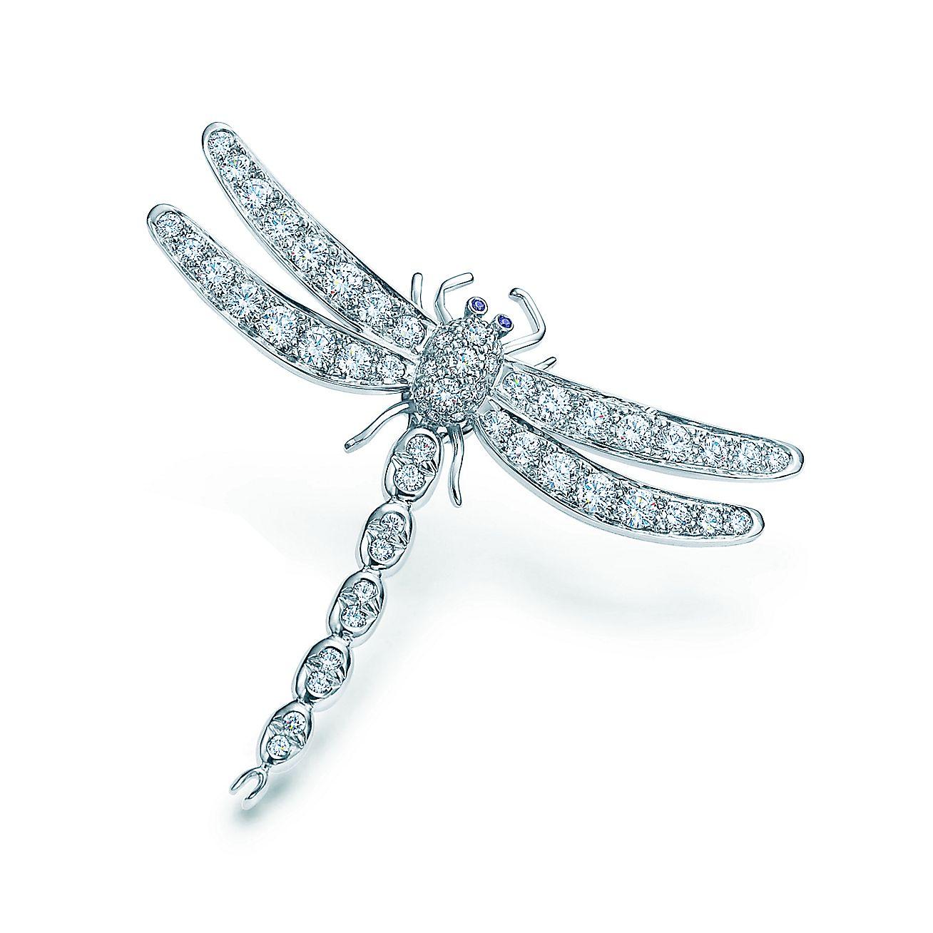 Tiffany Enchant®:Dragonfly Brooch
