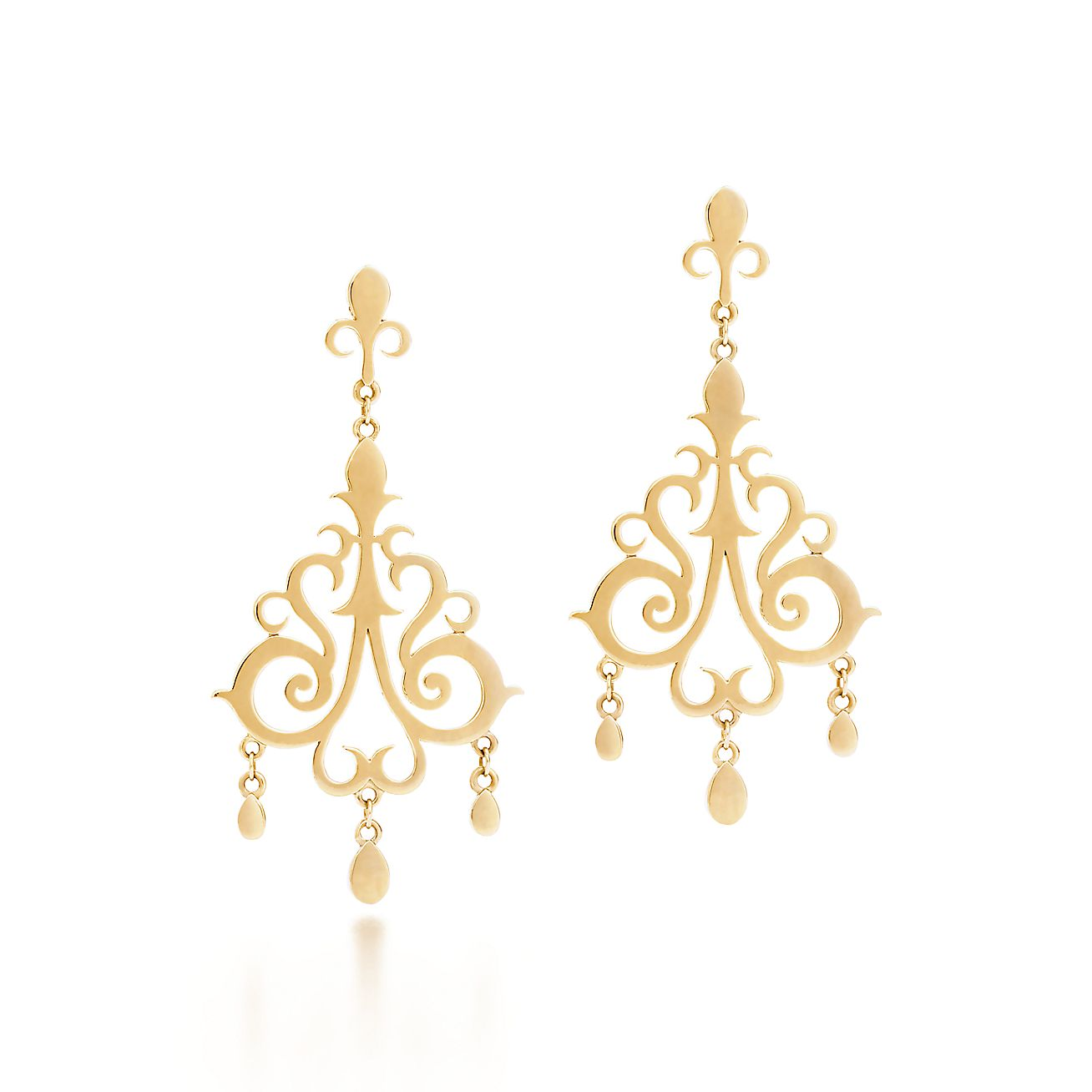 Tiffany Enchant®:Drop Earrings