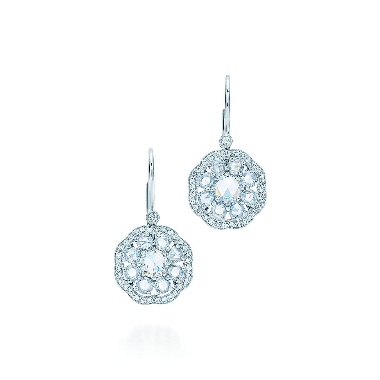 Tiffany Enchant®:Fleur Earrings
