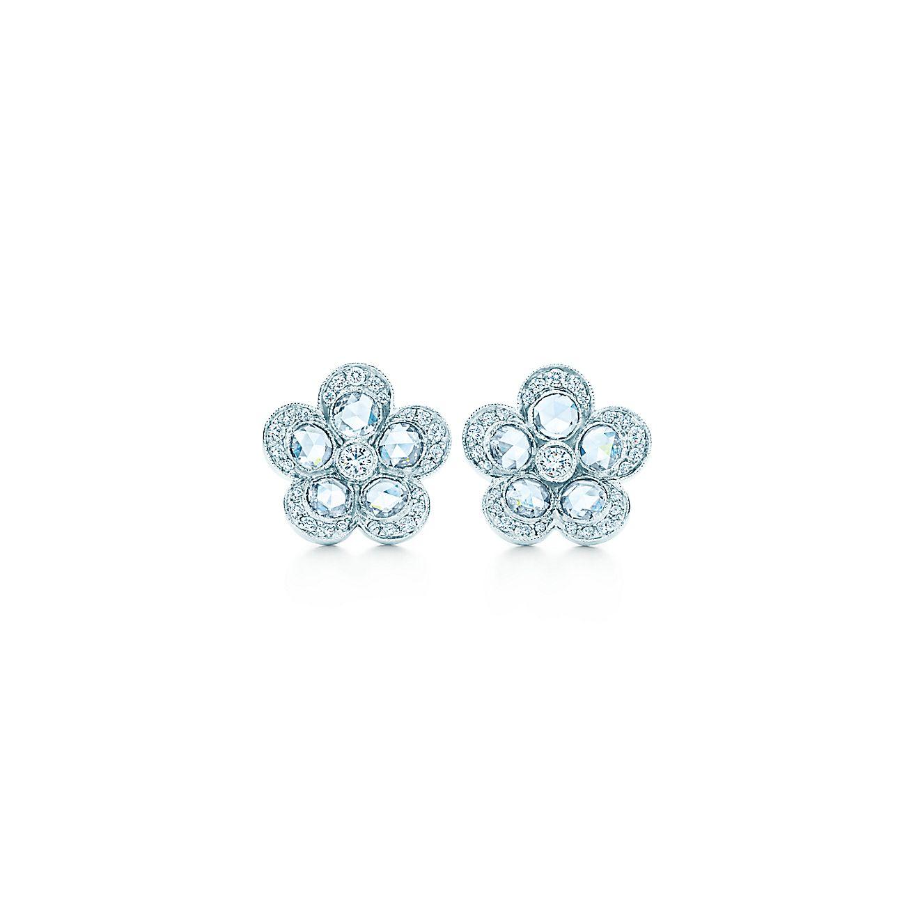 Tiffany Enchant®:Flower Earrings