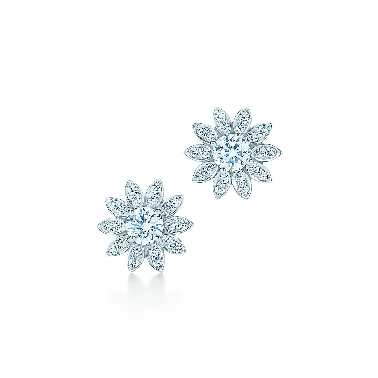 Tiffany Enchant®:Flower Earrings