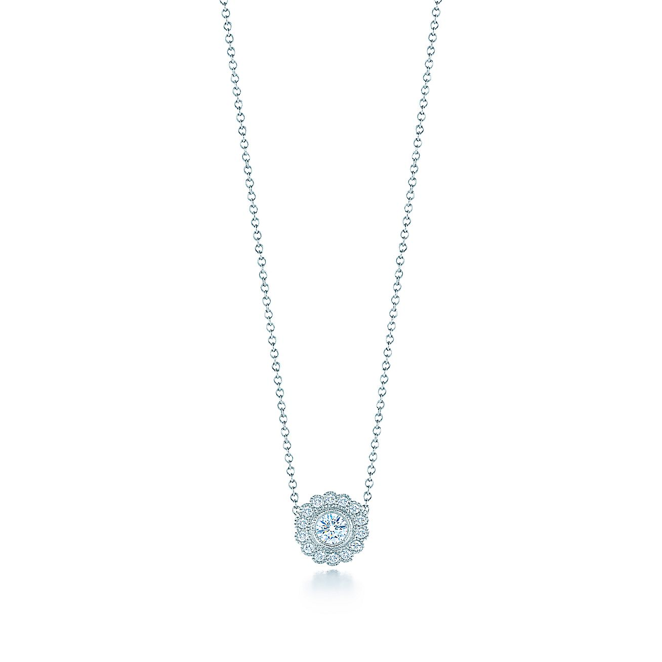 Tiffany Enchant®:Flower Pendant
