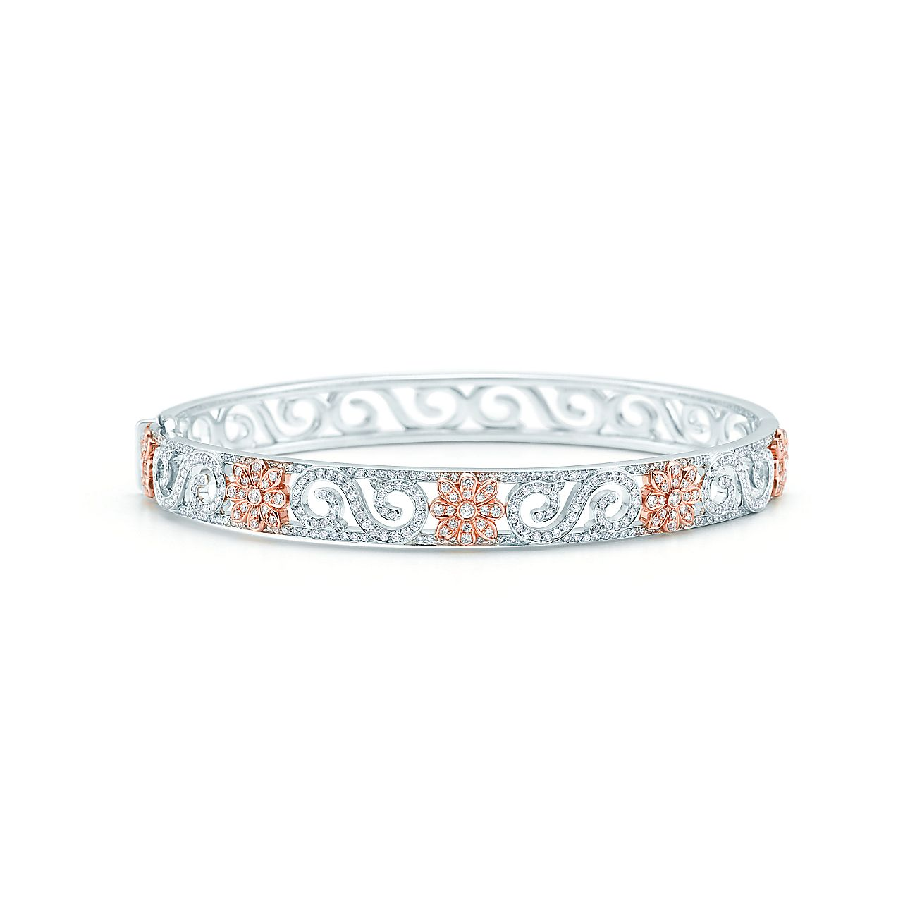 Tiffany Enchant®:Scroll Bangle