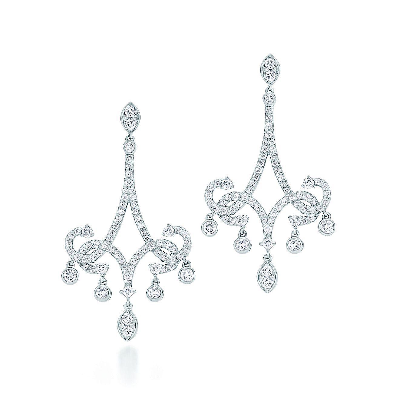 Tiffany Enchant®:Scroll Earrings