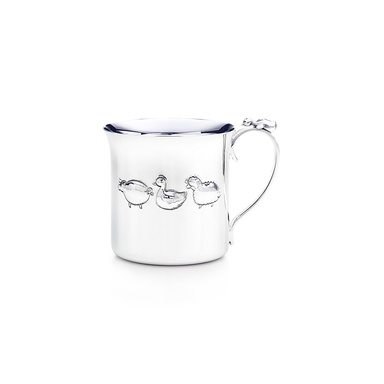 Tiffany Baby Gifts Australia : Tiffany farm baby cup in sterling silver co