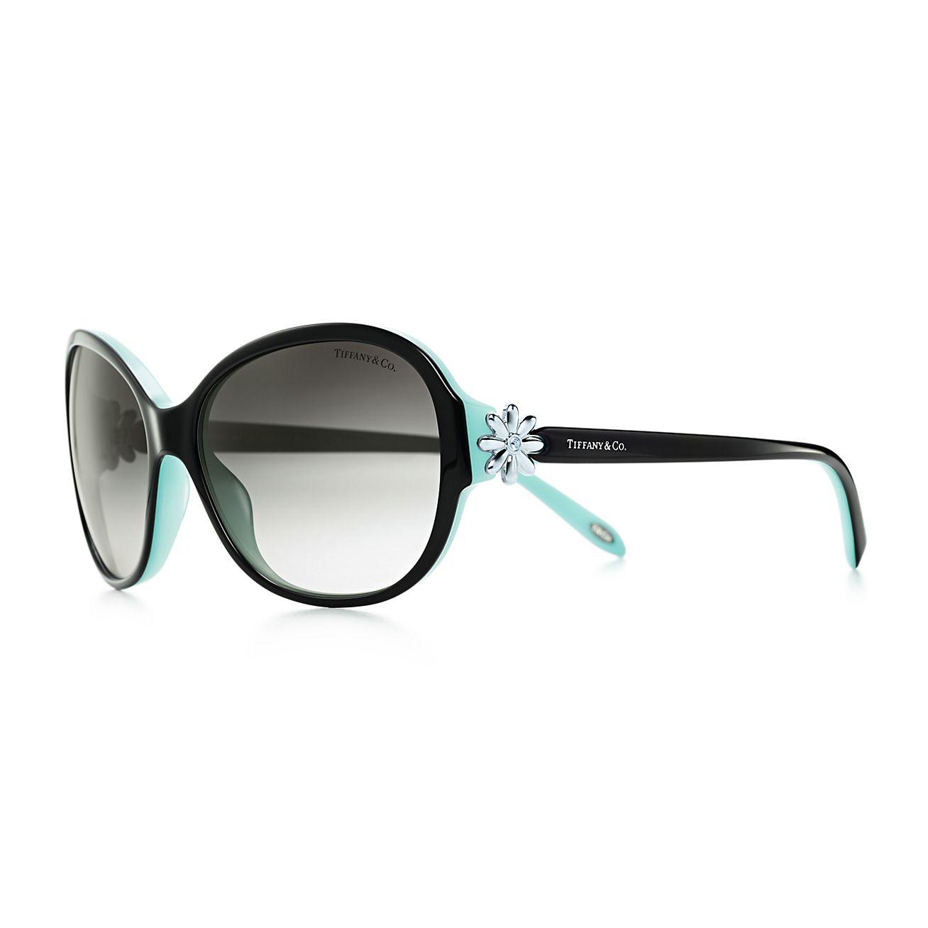 Tiffany Garden round sunglasses in Tiffany Blue acetate ...