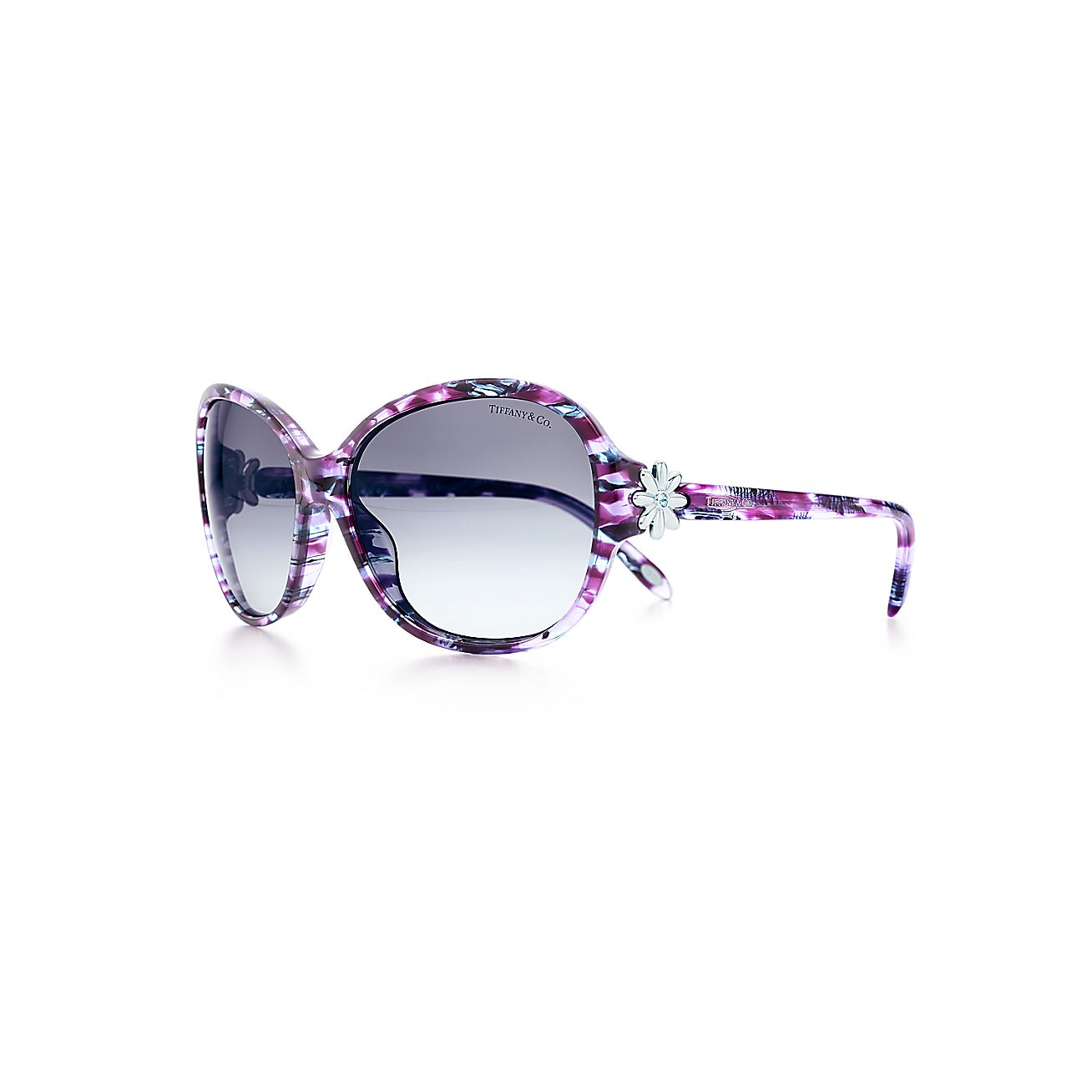 Tiffany Garden:Round Sunglasses