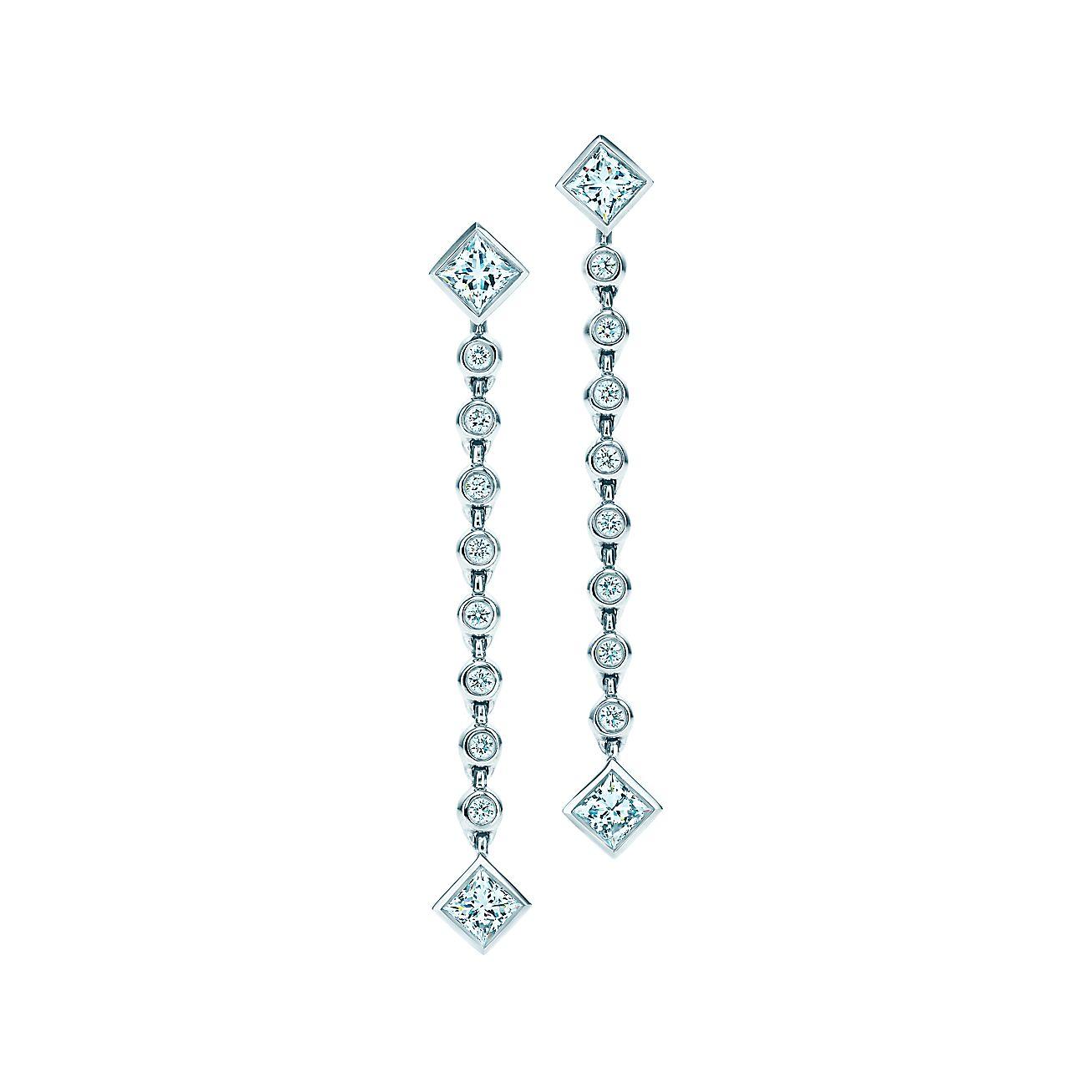 Tiffany Grace®:Drop Earrings