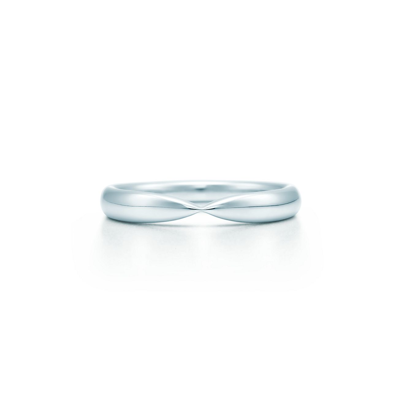 harmony wedding band in platinum 3 mm wide