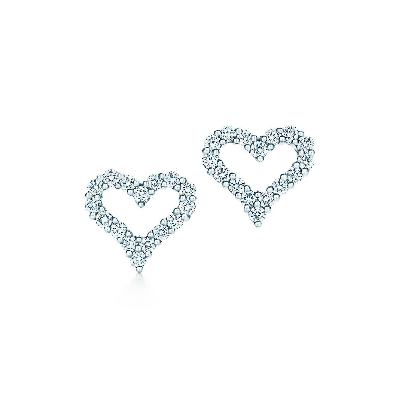 Tiffany Hearts®:Earrings