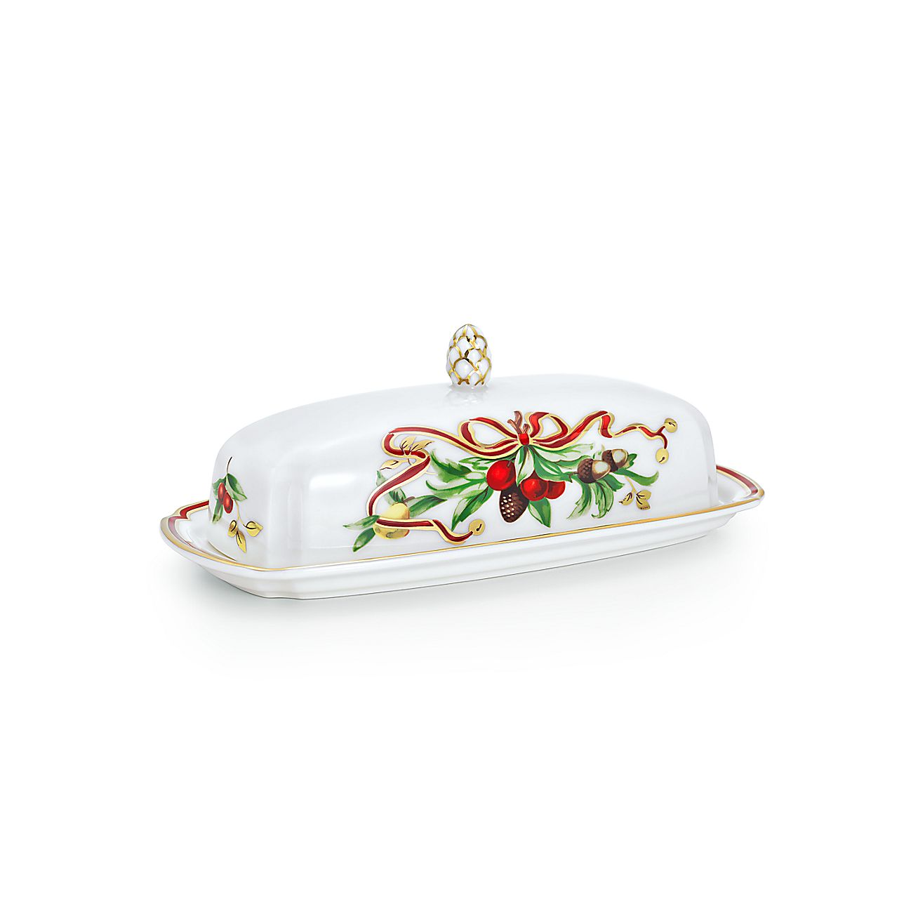 Tiffany Holiday™:Butter Dish
